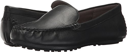 Aerosoles Women's Over Drive Loafer, Black Leather, 8.5 M US