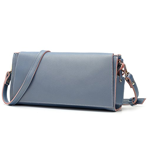 GUANGMING77 _Tasche Handtasche Schultertasche Blue Lotus