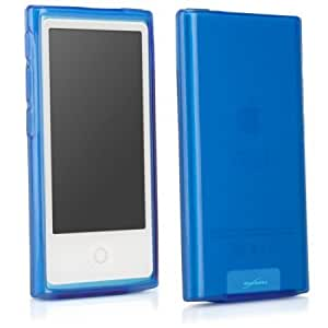 Bloutina BoxWave Pure Apple New iPod Nano (7th Generation) Crystal Slip - Colorful Slim Fit TPU Gel Skin Case for Durable...