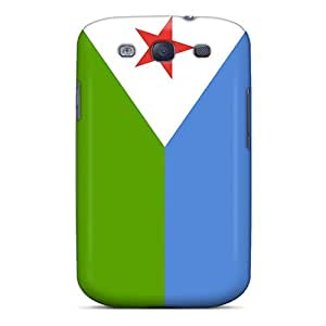 Excellent Design Djibouti Flag Phone Case For Galaxy S3 Premium Tpu Case by icecream design