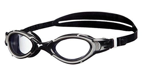 Arena Lunettes de natation Nimesis Crystal, Mixte Adulte Transparent (clear / black)