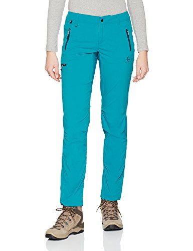Mount Wedge Odlo teal Hose crystal Pants 8OnFqpY