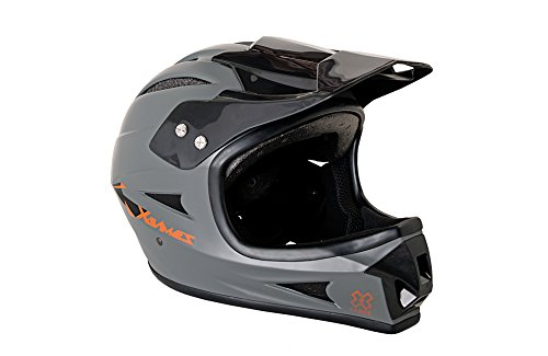 X Games Youth Full Face Helmet, Matte Grey