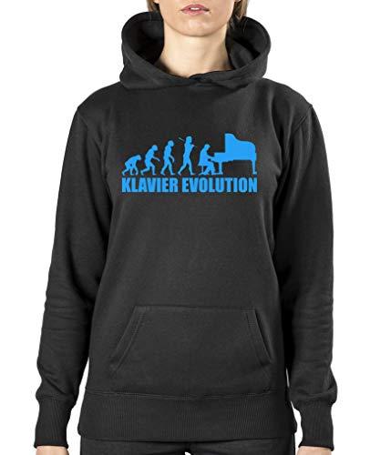 Donna Shirts blu felpa Comedy Nero Pv6YwqB