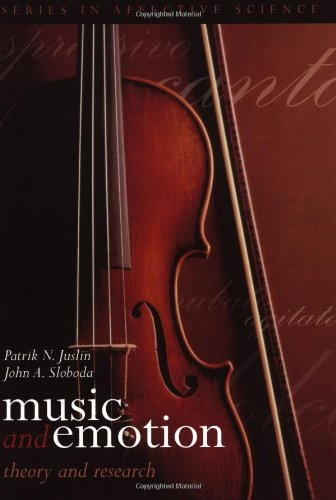 Music and Emotion: Theory and Research (Series in Affective
