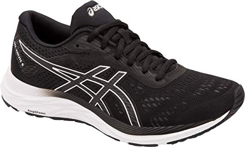 ASICS Gel-Excite 6 Women's Running Shoe, Black/White, 12 B US