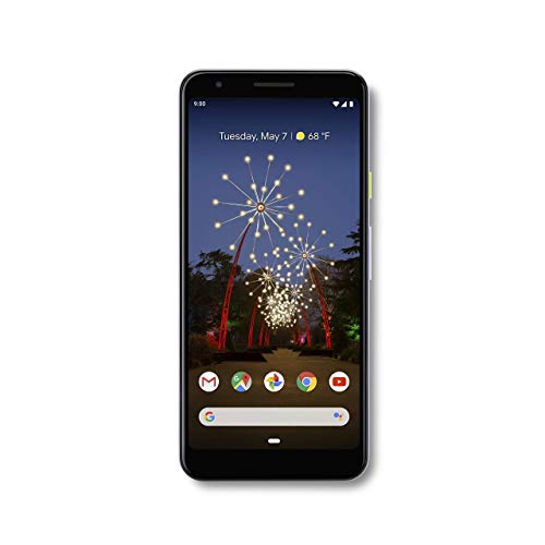 Google - Pixel 3a with 64GB Memory Cell Phone (Unlocked) - Purple-ish...