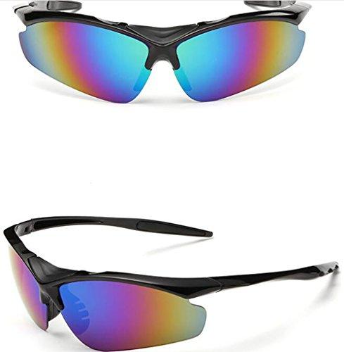 Aire Azul UV 100 Hombre Gafas Sol Pesca Deportes miyomie Gafas protección Mujer de Gafas al Libre Azul Gafas conducción Running de Ciclismo Gafas UXBxRaqg