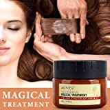 Magical Hair Treatment Advanced Molecula Hair Roots Treatment Mask - Professtional Hair Deep Conditioner, 5 Seconds to Restore Soft Hair, Instantly Service the Dry and Rough Hair Ends