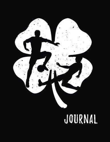Journal: Soccer, St. Patrick's Day Journal Notebook, Blank Lined Journal Notebook For Kids (8.5x11) V3