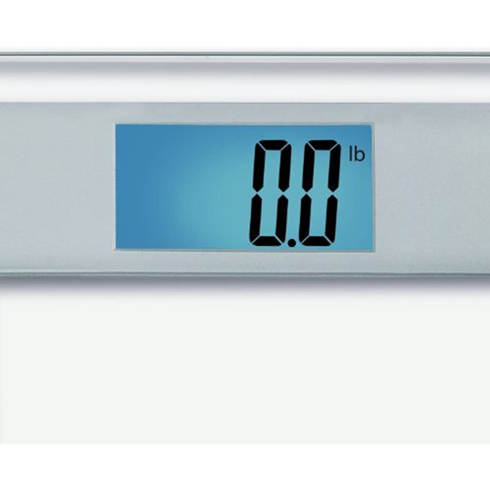 Eatsmart precision digital bathroom scale with extra large lighted display free body tape measure included health personal care