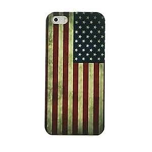 WQQ Funda Trasera - Gráficas - para iPhone 5/iPhone 5S ( Multicolor , Plástico )
