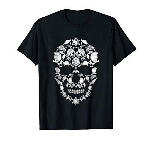 Turtle Skull Shirt Skeleton Halloween Costume Idea Gift