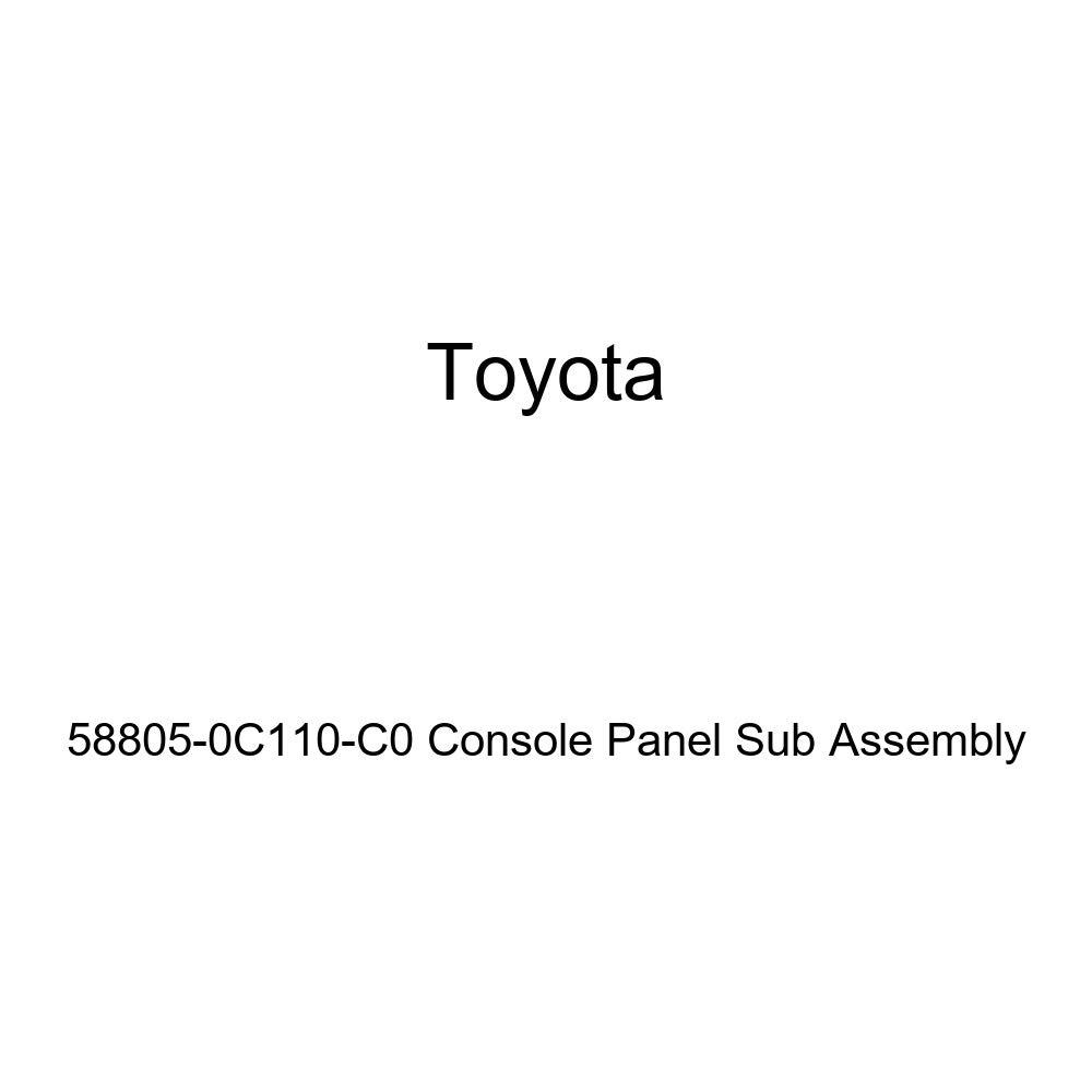 TOYOTA Genuine 58805-0C110-C0 Console Panel Sub Assembly