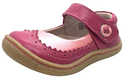 Livie & Luca Girls' Tootles Mary Jane Flat, Pink, 11 Medium US Little Kid