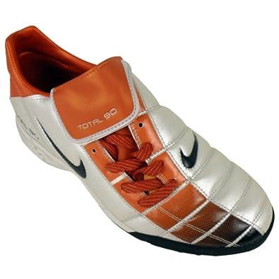 4cf94ec6222b Nike Total 90 II TF Silver Orange Black Astro Turf Football Trainers Size  UK 7.5