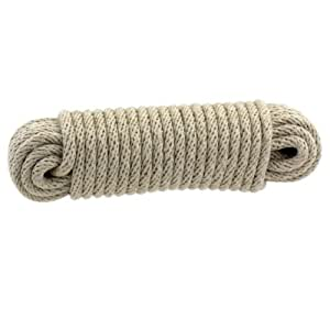 IIT 48710 3/8-Inch x 50-Feet All Natural Cotton Rope
