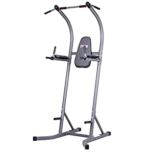 Body Champ PT620 Fitness Multifunction Power Tower/Multi station for Home Office Gym Dip Stands Pull Up VKR/Space Saving by