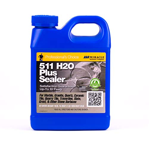 Miracle Sealants H2OPLQT6 511 H2O Plus Penetrating Sealers Quart