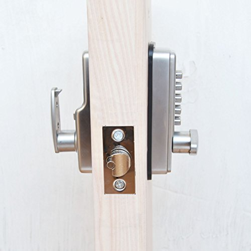 Lightinthebox Satin Nickel Finish Mechanical Password Door