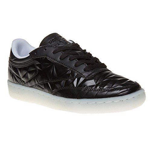 Reebok Club C 85 Hype Metallic Mujer Zapatillas Negro