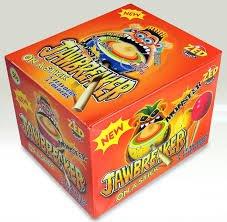(Monster Jawbreaker Lollipops (box of 18) by Zed Gum)