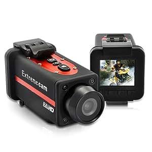 """Camara sport Full HD 1080p deporte extremo acción """"Crocolis HD"""" - a prueba de agua, pantalla de 1.5 pulgadas"""