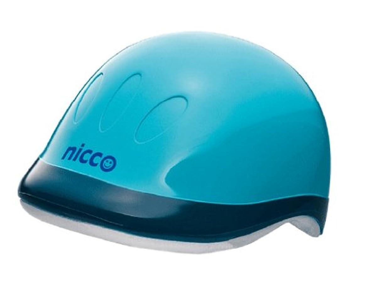 [해외] nicco 니코 하드쉘 헬멧 스카이블루 KH001