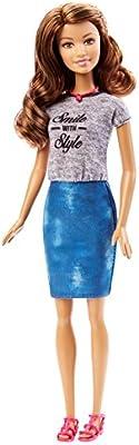 Barbie Fashionistas - Muñeca, sonríe con Estilo (Mattel DGY58 ...