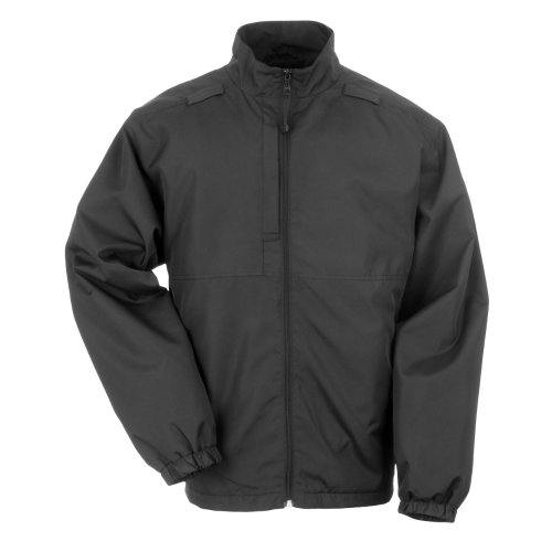 Tactical 5.11 Outerwear Jackets (5.11 Tactical #48052 Lined Packable Jacket (Black, XX-Large))