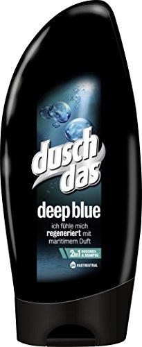 Duschdas For Men Duschgel Deep Blue, 6er Pack (6 x 250 ml)