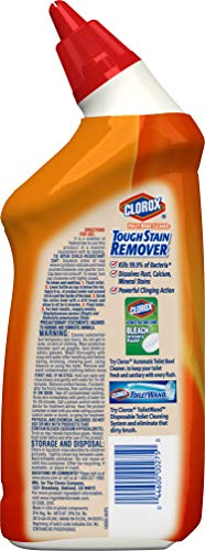 Clorox Toilet Bowl Cleaner Lime & Rust Destroyer 24 Ounces (00275) (Package May Vary)