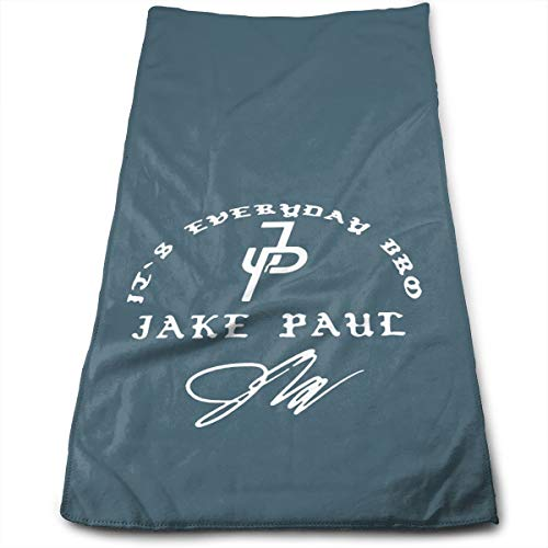 Pobilay Jake Paul Logo Towel Hand Towels Washcloths for Bathroom Spa Gym Sports ()