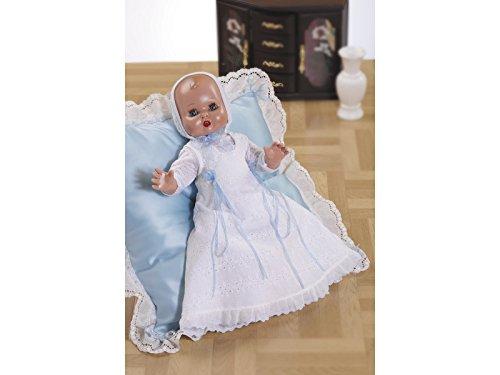 Marienkäfer Pérez – juanín Baby Taufkleid, Weiß (jb05054)