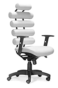 Zuo Unico Office Chair White Kitchen Dining