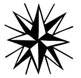 Estrellas vinilo etiqueta etiqueta coche carro barco ventana - 30 cm de altura * W Auto
