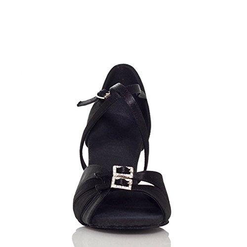 Black femme 35 Miyoopark 7 5cm bal Salle heel noir de q6xxwT47