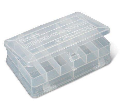 (Plano 3414 Stowaway Micro Organizer Box, Clear)