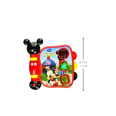 Mickey Mouse Clubhouse, Mickey's My First Learning Book Lights and Sounds (styles may vary): Toys & Games