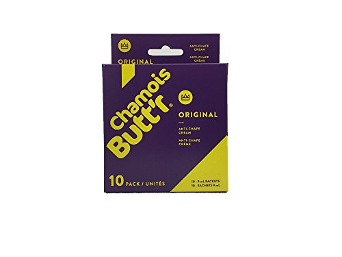 (Chamois Butt'r Original Anti-Chafe Cream, 10-pack of 9mL packets)