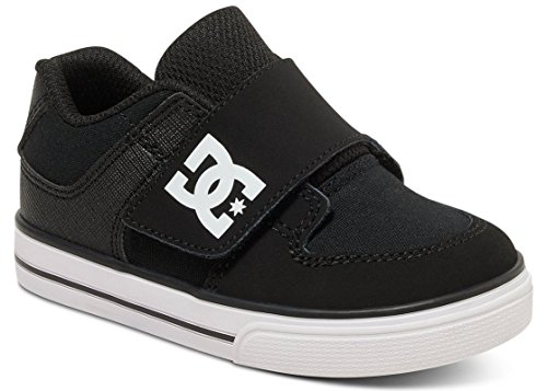 Dc Shoes Pure V - Zapatos Para Bebés (Niños/Kids) BLACK/WHITE