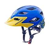 Exclusky Kids Helmets for Bike/Skate/Multi-Sport Lightweight Adjustable 50-57cm(Ages 5-13) (by)