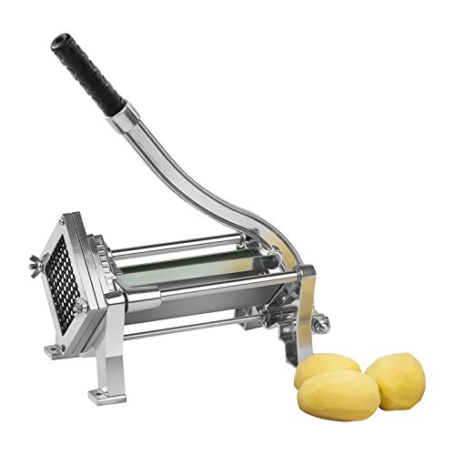 Royal Catering Potato Vegetable Chipper Cutter Slicer RCKS-3 (Three blades...