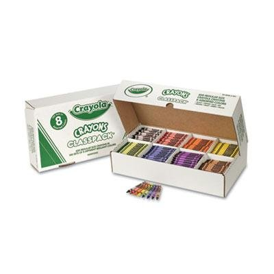 Crayola - Classpack Regular Crayons 8 Colors 800/Bx ''Product Category: Writing & Correction Supplies/Crayons & China Markers'' by Original Equipment Manufacture