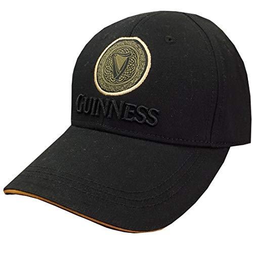 Guinness Black/Tan Celtic Knot Harp Baseball -