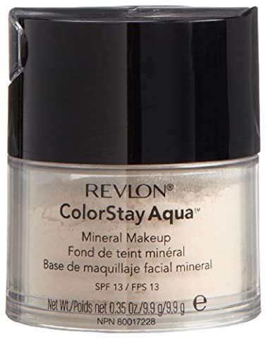 Revlon Colorstay Aqua Mineral Makeup, Fair/light,