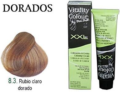Tinte Vitality Colour XXL 100ml. Tono Rubio Claro Dorado ...