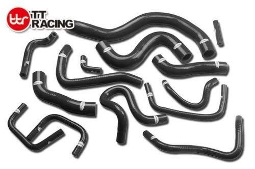 FOR NISSAN Skyline GT-R R35 VG38DETT Radiator Heater Silicone Hose Kit Pipe: