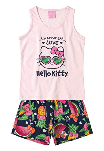 Conjunto Infantil Frutas Hello Kitty