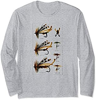 [Featured] Fly Fishing gift Fishing flies and hooks Fisherman Lake Long Sleeve in ALL styles | Size S - 5XL
